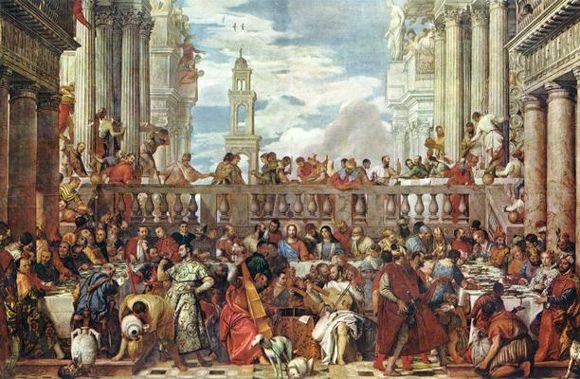 Noces de Cana musée du Louvre
