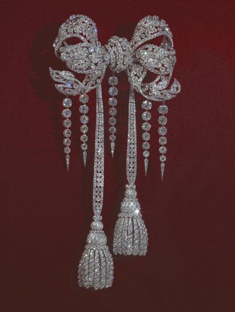 Les Diamants de La Couronne- Noeud du corsage de la l'impératrice Eugénie