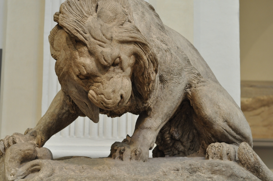 Lion au serpent Antoine Louis Barye