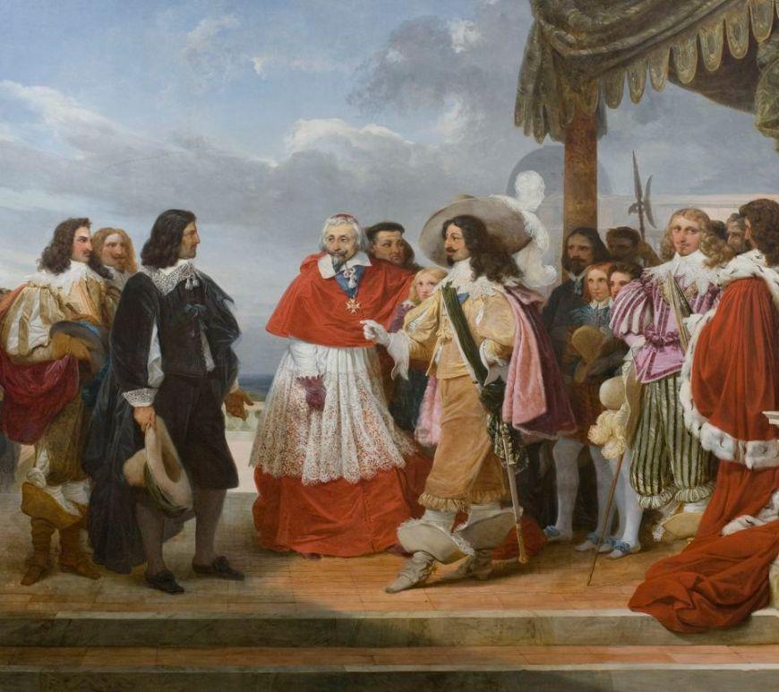 Poussin et Louis XIII au Louvre