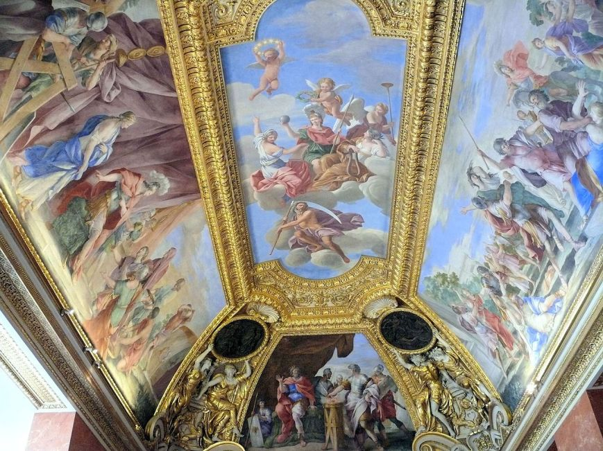 Appartement d'Anne d'Autriche musée du Louvre