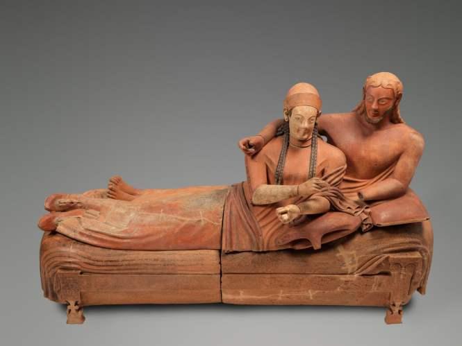 Collection étrusque du marquis Campana au Musée du Louvre