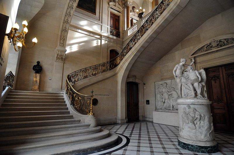 Escalier du Ministre au musée du Louvre