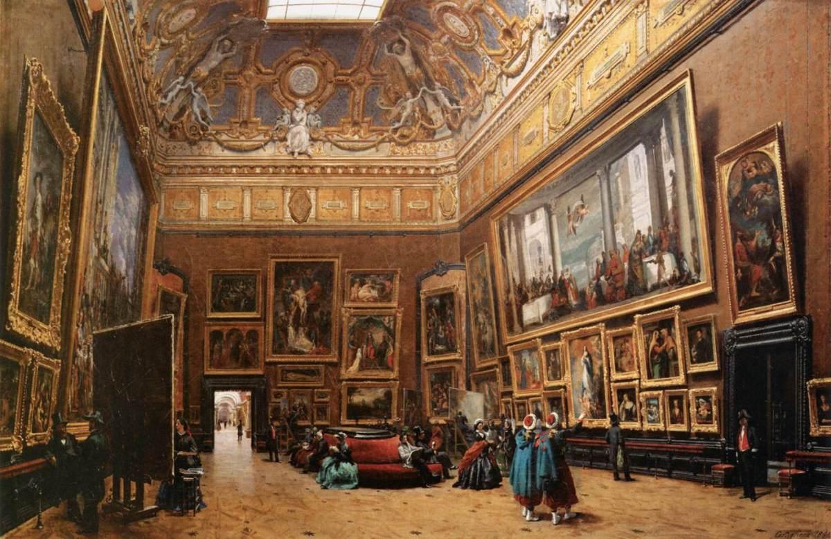 Salon carré du musée du Louvre